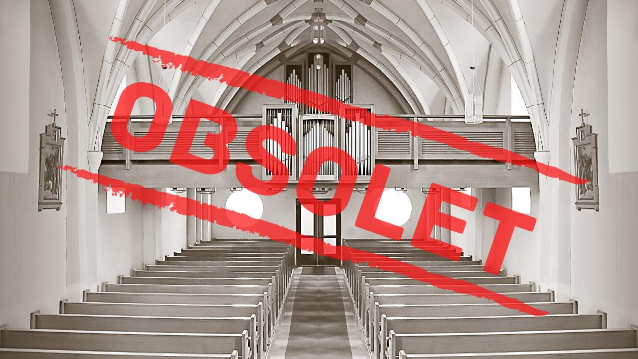 Wir brauchen keine Gottesdienste mehr!